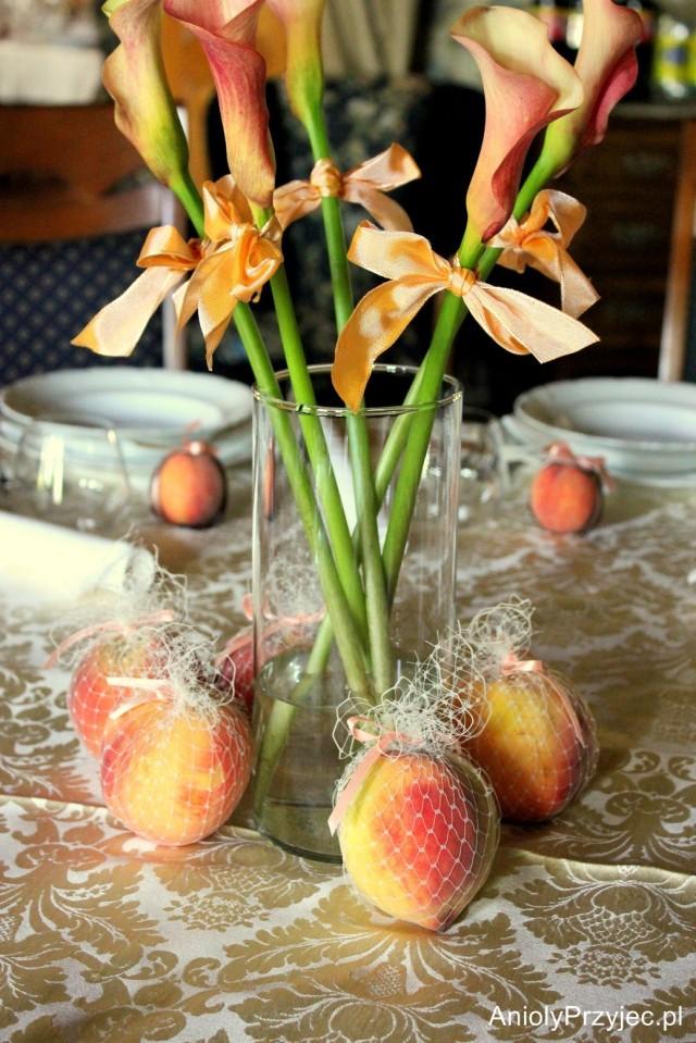 Owocowe dekoracje Anioły Przyjęć