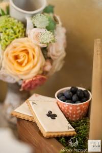 Słodki bufet, wesele Alicja w Krainie Czarów